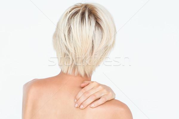 Belle femme blanche Homme belle joli Photo stock © wavebreak_media