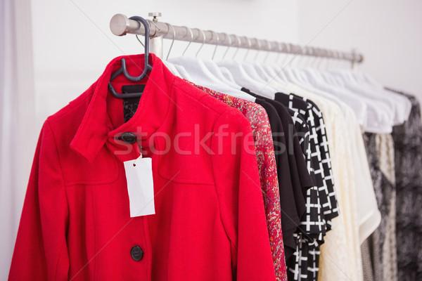 絞首刑 赤 コート ブティック 服 ライフスタイル ストックフォト © wavebreak_media