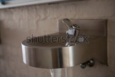Close up of drinking water faucet Stock photo © wavebreak_media