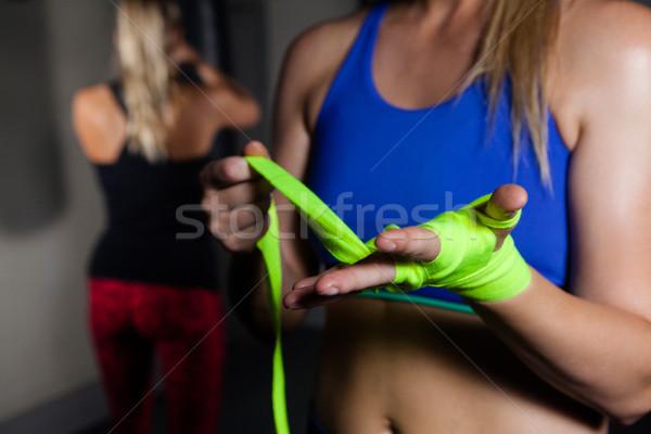 женщину стороны фитнес студию молодежи Сток-фото © wavebreak_media