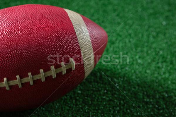 クローズアップ アメリカン サッカー 人工的な ボール ストックフォト © wavebreak_media