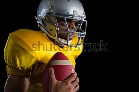 Americano bola tanto brasão Foto stock © wavebreak_media