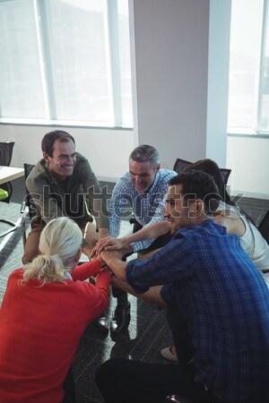 Friends consoling sad woman Stock photo © wavebreak_media