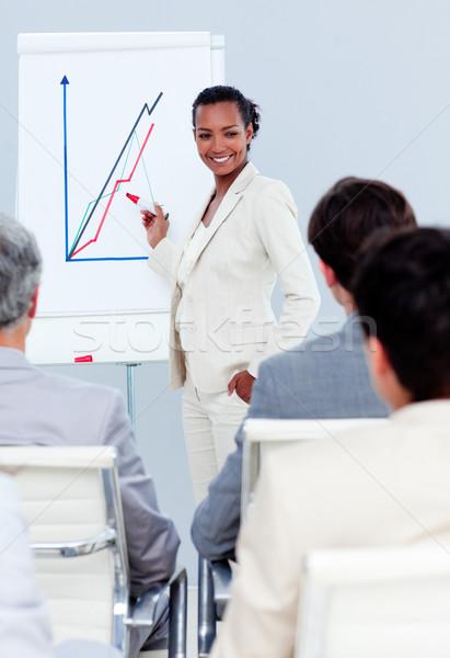 カリスマ的な 女性実業家 プレゼンテーション 会議 作業 ビジネスマン ストックフォト © wavebreak_media