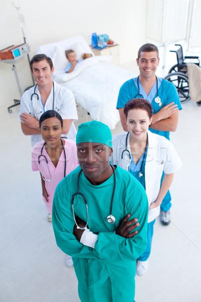 Chirurg Ärzte Kind Patienten medizinischen Stock foto © wavebreak_media