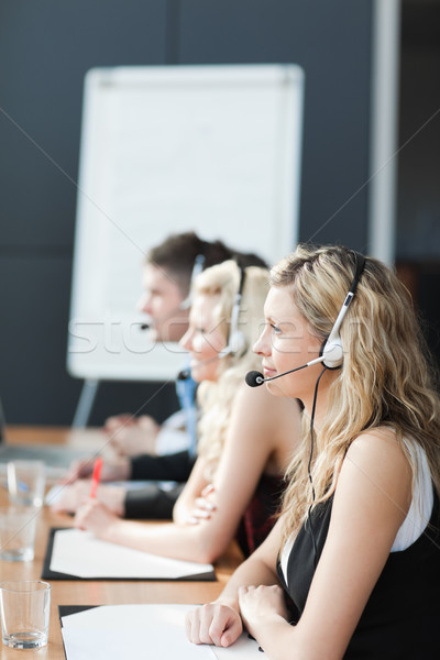 Business team in a call center Stock photo © wavebreak_media