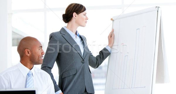 Portrait of a self-assured businesswoman in a meeting Stock photo © wavebreak_media