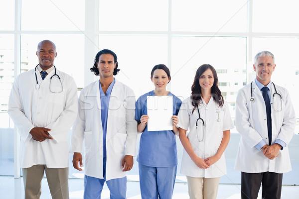 医療 人 新しい インターン シート ストックフォト © wavebreak_media