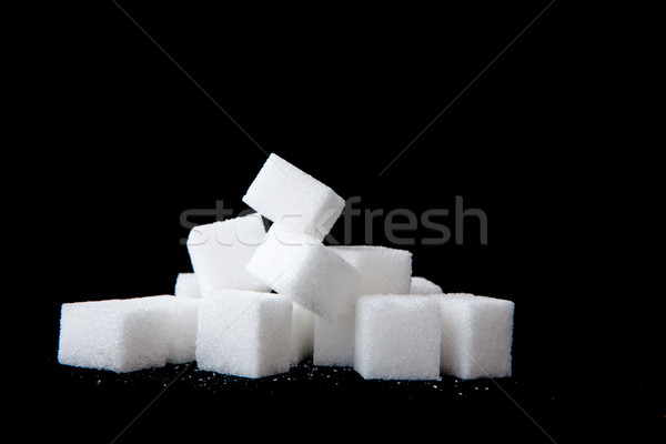 Sugar lumps piled up together Stock photo © wavebreak_media