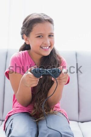 Włosy stylista mycia salon fryzjerski człowiek szczęśliwy Zdjęcia stock © wavebreak_media