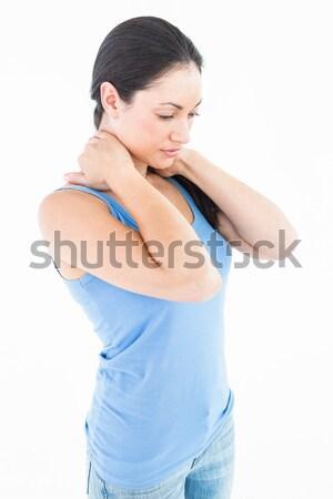 Bastante morena branco mulher corpo Foto stock © wavebreak_media