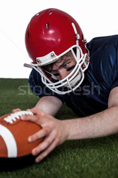American football player scoring a touchdown Stock photo © wavebreak_media