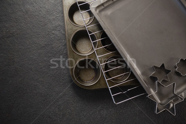 Görmek pasta levha soğutma Stok fotoğraf © wavebreak_media