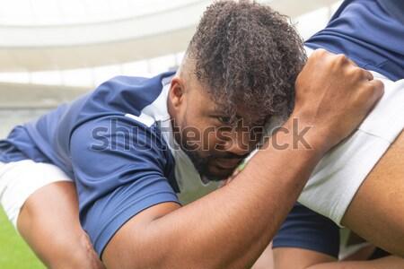 Paramédico paciente clínica homem médico Foto stock © wavebreak_media