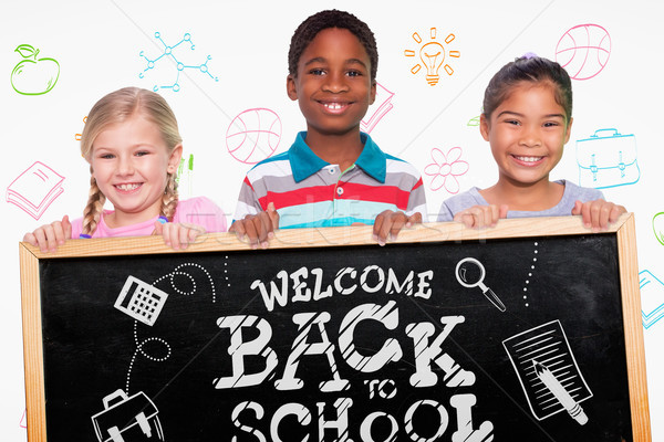 Bild elementare Schüler lächelnd glücklich Stock foto © wavebreak_media