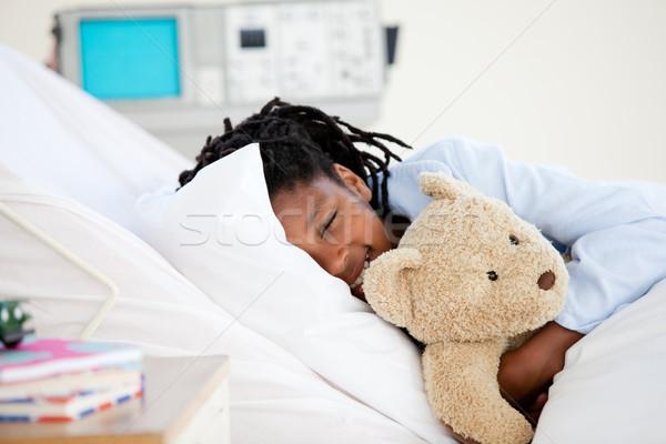 病院 テディベア 子 だけ ストックフォト © wavebreak_media