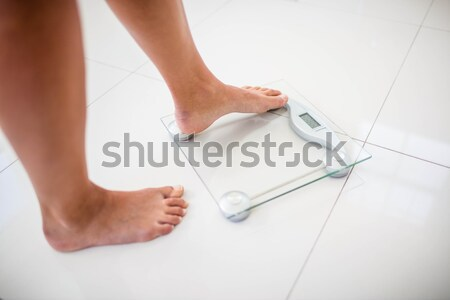 Arts enkel patiënt medische kamer benen Stockfoto © wavebreak_media