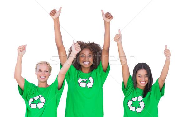 Podniecony grupy biały kobieta szczęśliwy Zdjęcia stock © wavebreak_media