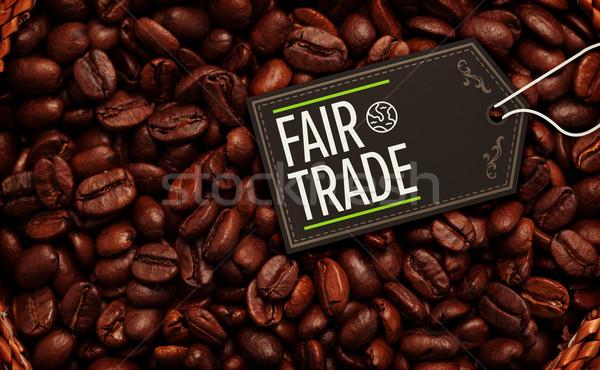 Görüntü adil ticaret sepet Stok fotoğraf © wavebreak_media
