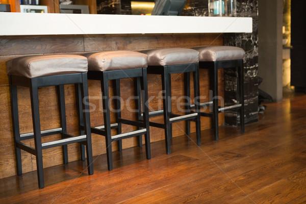 несколько Бар стул ночном клубе Сток-фото © wavebreak_media