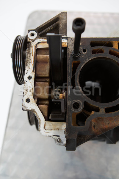 Close-up of old car engine Stock photo © wavebreak_media
