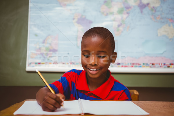 かわいい 少年 書く 図書 教室 ストックフォト © wavebreak_media