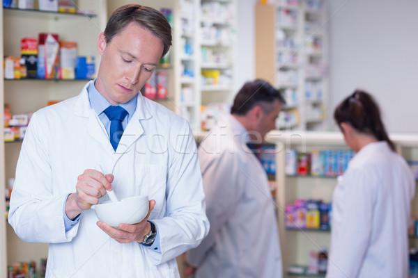 Gericht apotheker medische ziekenhuis team vrouwelijke Stockfoto © wavebreak_media