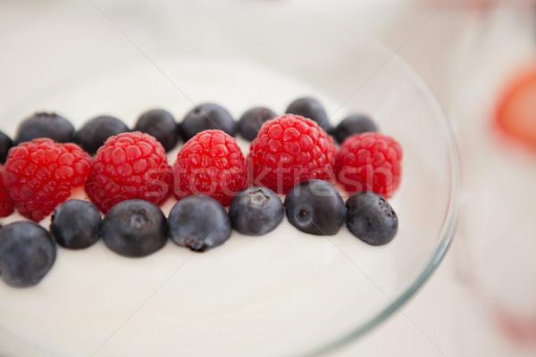 Fruit ice cream in bowl Stock photo © wavebreak_media