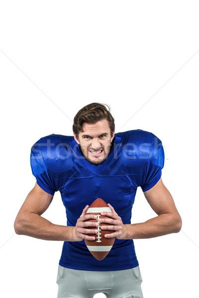 Aggressivo americano palla ritratto Foto d'archivio © wavebreak_media