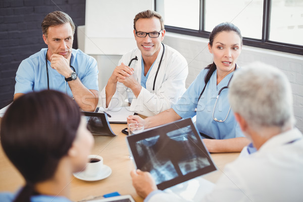 Medical team interacting in conference room Stock photo © wavebreak_media