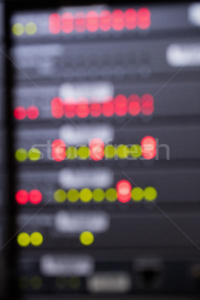 Cremalheira servidor quarto borrão ver feliz Foto stock © wavebreak_media