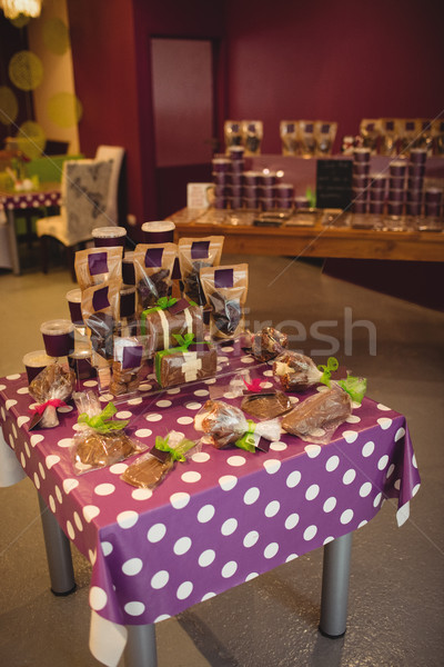 Various chocolates arranged on table Stock photo © wavebreak_media