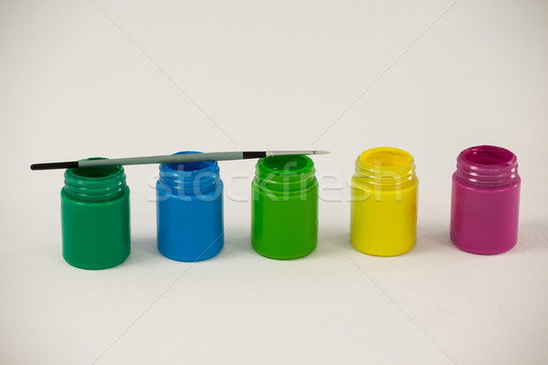 Aquarela paint brush branco arte educação escove Foto stock © wavebreak_media