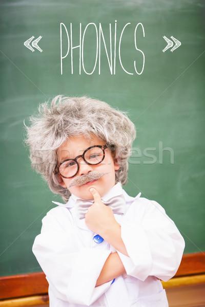 очки мальчика мышления класс учить Сток-фото © wavebreak_media