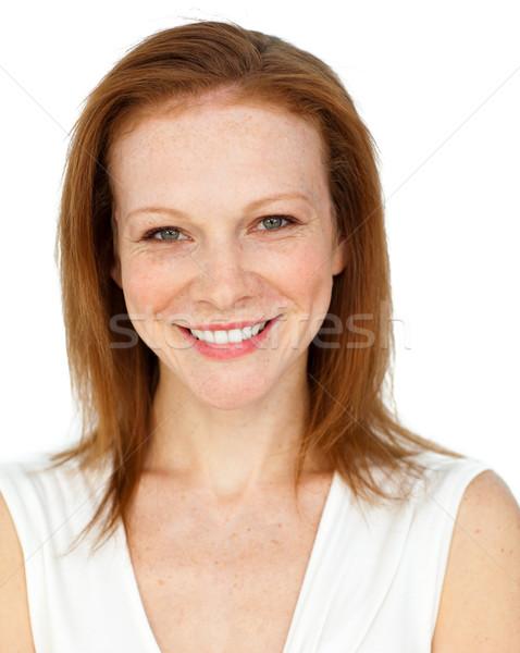 Smiling assertive businesswoman Stock photo © wavebreak_media
