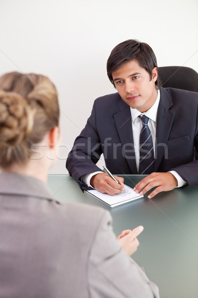 Retrato jovem gerente feminino candidato escritório Foto stock © wavebreak_media