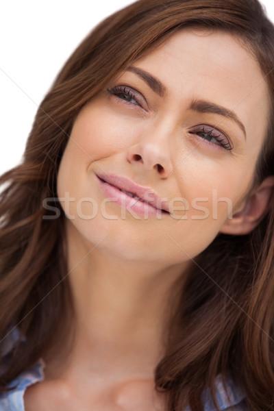 Portrait of a thoughtful woman Stock photo © wavebreak_media