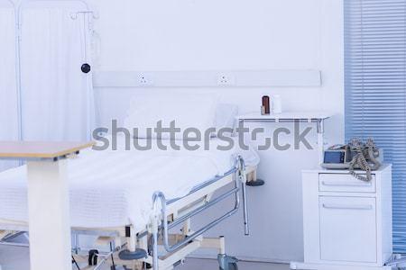 空っぽ ベッド 病院 ルーム 表示 医療 ストックフォト © wavebreak_media