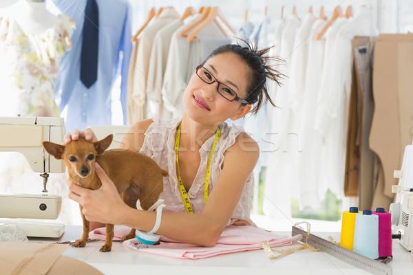 美しい 女性 ファッション デザイナー 肖像 ビジネス ストックフォト © wavebreak_media