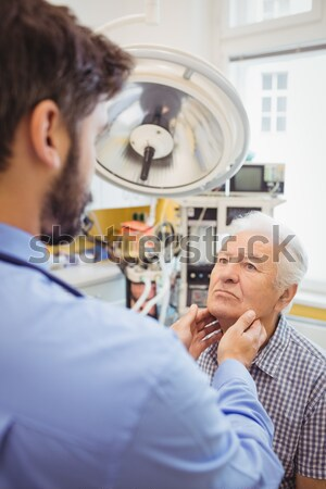 Zahnarzt Assistent Studium zahnärztliche Klinik Krankenschwester Stock foto © wavebreak_media