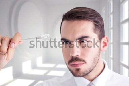 Dental assistant preparing an injection Stock photo © wavebreak_media