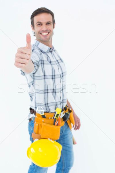 Technicien portrait blanche homme Photo stock © wavebreak_media