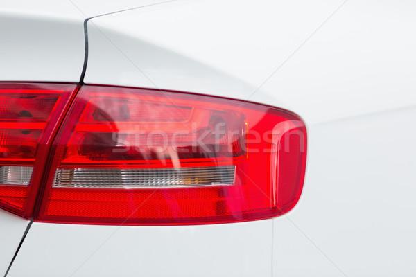 задний свет автомобилей красный свет Сток-фото © wavebreak_media