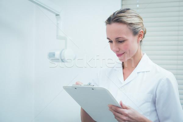 женщины стоматолога серьезный молодые женщину Сток-фото © wavebreak_media