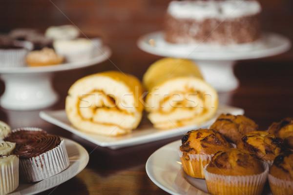 Vários contrariar café comida café Foto stock © wavebreak_media