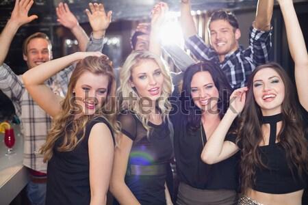 Ritratto amici festival di musica giovani donna Foto d'archivio © wavebreak_media