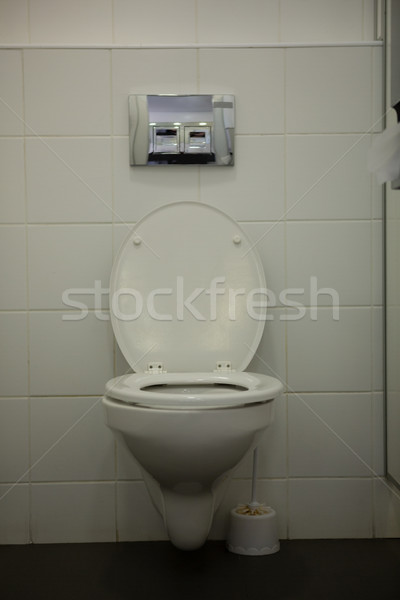 White toilet bowl in bathroom Stock photo © wavebreak_media