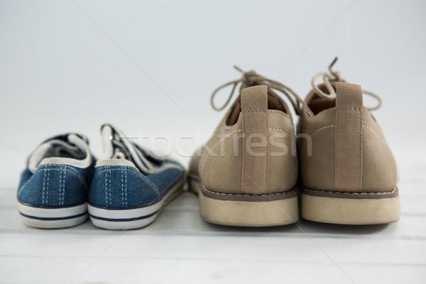 Close up of shoes on floor Stock photo © wavebreak_media