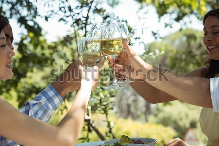 Vintner holding glass of wine Stock photo © wavebreak_media
