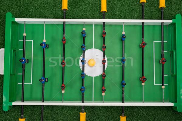 Table football jeu herbe artificielle vue herbe Photo stock © wavebreak_media